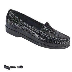SAS Simplify Black Loafers